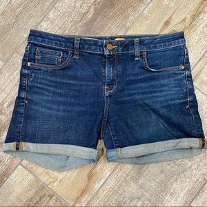 Pilcro and The Letterpress   Denim Shorts